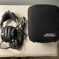 Bose X Aviation Ahx/anr 308100-0170 Headset Noise Canceling