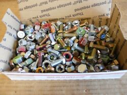 Lot Of New Bulk Nuts And Bolts Over 300 More Than 7 Lbs Right And Left Hand Thread