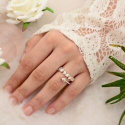 2.01 Ct. Si/hi Pear Baguette And Marquise Diamond Ring 18k Yellow Gold Jewelry