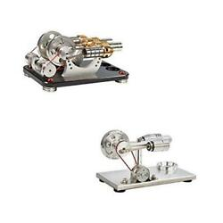 Hot Air Stirling Engine Motor Model Educational Toy Electricity M16-22-d-sc004