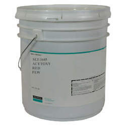 Dow Corning 4107708 Acetoxy Sealant,silicone,red,pail