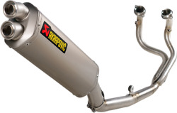 Akrapovic S-h11r1-wt/2 Race Exhaust For 2020-2021 Honda Crf1100l Africa Twin