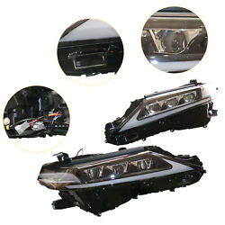 Headlight Assembly For Toyota Camry 2018-2021 Beam Led Drl Left+right W/harness