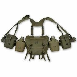 Military Ww2 Us Army Vietnam War Soldier M1956 Field Gear Packages Long Pouch