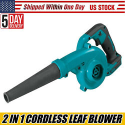 2 In 1 Electric Handheld Air Blower Vacuum Dust Cleaner For Makita 18v Battery