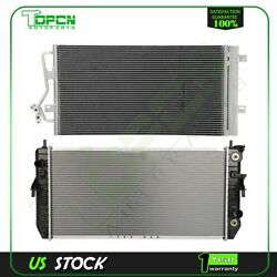 Fits 2006-2008 Buick Lucerne Replacement Radiator And Condenser Assembly