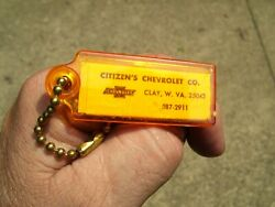 Vintage 1960' S Chevy Gm Accessories Nos Promo Auto Key Holder Old Car Part Oem