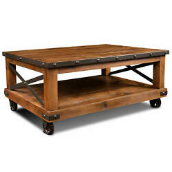 Sunset Trading Rustic City Coffee Table Hh-1365-200