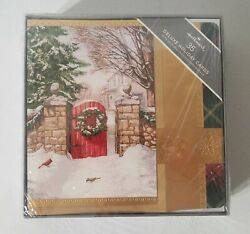 Hallmark® 35 Deluxe Holiday Cards With Self-sealing Envelopes And Seals