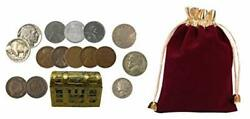 6 - Treasure Chests Of Coin History - Includes Silver And 100 Year Old Coins