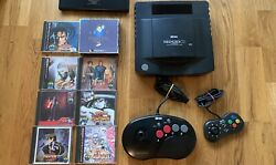 Entire Neo Geo Cd Console Collection 8 Games Us Seller