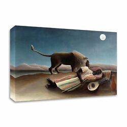 Tangletown The Sleeping Gypsy 1897 By Henri Rousseau On Canvas 8r1191dc-4530