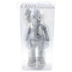 Kaws Cowes Medicom Toy Companion Flayed Open Edition Figure Ash Size Free
