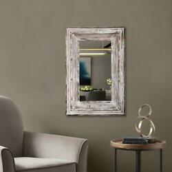 High Quality Artisasset 31quot; Wood Square Decorative Mirror Wood Wall Mirror