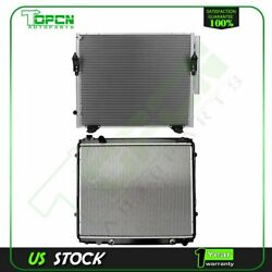 Fits 2006 Toyota Tundra Replacement Radiator And Condenser Cooling Assembly