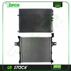 Fits Jeep Commander Grand Cherokee Replacement Radiator And Condenser Kit