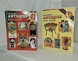 1993 And 1998 Schroeders Antique Price Guides Collectors Books