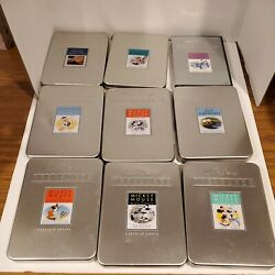 Walt Disney Treasures Limited Edition Dvd Lot 0f 9 With Tins Free Shipping Fast