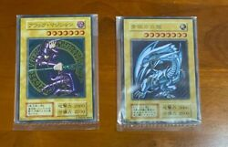 Yu-gi-oh Made Of Stainless Steel Blue-eye White Dragon Black Magician Sheets Set