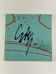 Dale Chihuly Signed Autograph W/ Paint On Book Cover Baskets - Very Rare