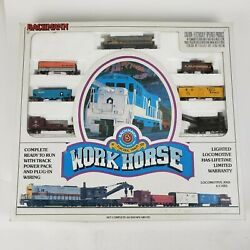 Bachmann N Scale Work Horse Electric Set - Almost Complete See Photos 24420