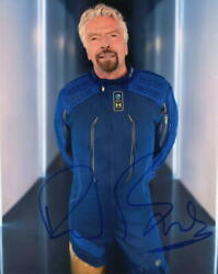 Richard Branson Signed Autograph 8x10 Photo - Virgin Galactic And039s First Astronaut