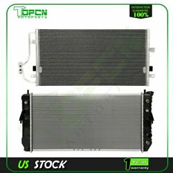 Fits Buick Lesabre Pontiac Bonneville Replacement Radiator And Condenser Assembly