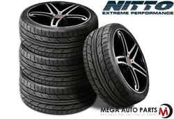 4 Nitto Nt555 G2 255/40zr19 100w Xl Ultra-high Performance Summer Uhp Tires