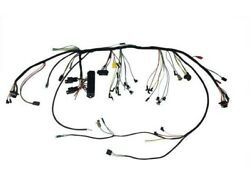 Scott Drake 1934 Under-dash Harness W/premium Fuse Box And Relays 1966 Ford Must