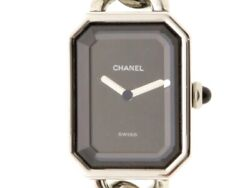 Premiere H0452 Size Stainless Steel Black Dial Quartz Womenand039s No.8340