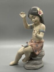 Lladro Natural Wonder 6308 Mint Condition, With Box Rare Piece