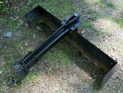 Garden Lawn Tractor Sleeve Hitch Tow Behind Rear Grading Blade, Pickup Only Ohio