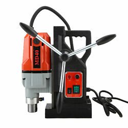 Md40 Magnetic Drill Press 1-1/2 Boring 2700 Lbs Magnet Force Tapping 1100w 110v
