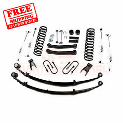 Zone 4.5 F And R Suspension Lift Kit Fits Jeep Cherokee Chrysler 4wd Gas 1984-01