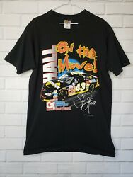 Farms And Country Central Tractor Racing Graphic T-shirt L Size Collectable Black