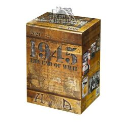 2021 Historic Autographs 1945 The End Of Wwii Blaster Box