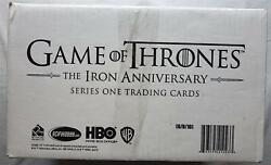 Case Game Of Thrones Iron Anniversary Trading Cards Box 2021 Limited