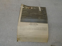 1936 Ford Coupe Barn Find Historical Document 36 Ch. Tennessee 3 5 Window