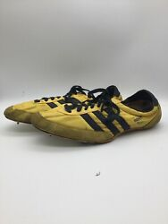 Vintage Adidas Apollo Yelliw Track Shoes From The 70s. Made In Twain