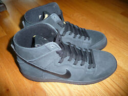 Nike Zoom Dunk High Pro Decon Black High Top Shoes Sneakers Mens 8.5 New