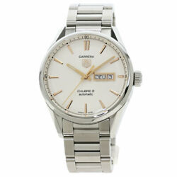 Tag Heuer Carrera Caliber 5 Day Date Watches War201d-1 Stainless Steel/stain...