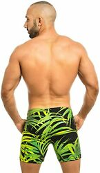 Taddlee Swimwear Men Swimsuits Swimming Boxer Briefs Surfing Trunks With Pockets