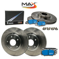 2008 2009 2010 2011 Ford F250 Sd 2wd Oe Replacement Rotors M1 Ceramic Pads F+r