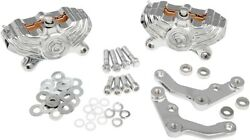 Performance Machine 0052-4006-ch Front Vintage 4-piston Calipers