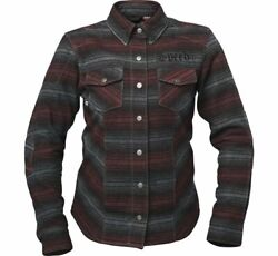 Speed And Strength 1106-1410-0356 Womenand039s Brat Armored Flannel Shirt