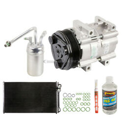 For Ford Mustang 1996 1997 1998 Oem Ac Compressor W/ Condenser Drier Dac