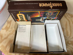 Dark Tower Board Game New Motor Professional Clean Euc - 100 Complete