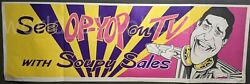 Rare 1968 See Op-yop On Tv With Soupy Sales Advertisement Poster