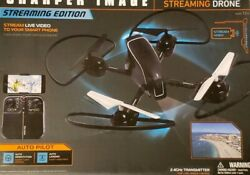 Sharper Image 10 Inch Drone With Streaming And Still Shot Camera - Auto Pilot