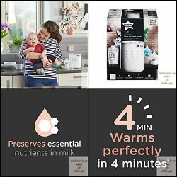 New Tommee Tippee 3 In 1 Advanced , Breast Milk Safe Bottle And Pouch Warmer,